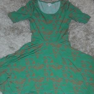 "LuLaRoe Dresses - Lularoe ""Nicole"" dress"